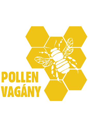 Pollen vagány - sárga